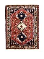 Navaei & Co. Alfombra Persian Yalameh Rojo/Multicolor 131 x 82 cm