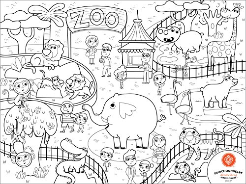 prince-lionheart-zoo-colour-and-draw-placemat