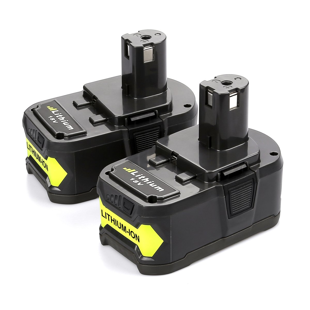Energup 18V P108 Lithium Battery 4000mAh for Ryobi ONE+ P104 P105 P102 P103 P107 P507 BPL-1815 BPL-1820G BPL18151 BPL1820 Cordless Power Tools (2 Pack)