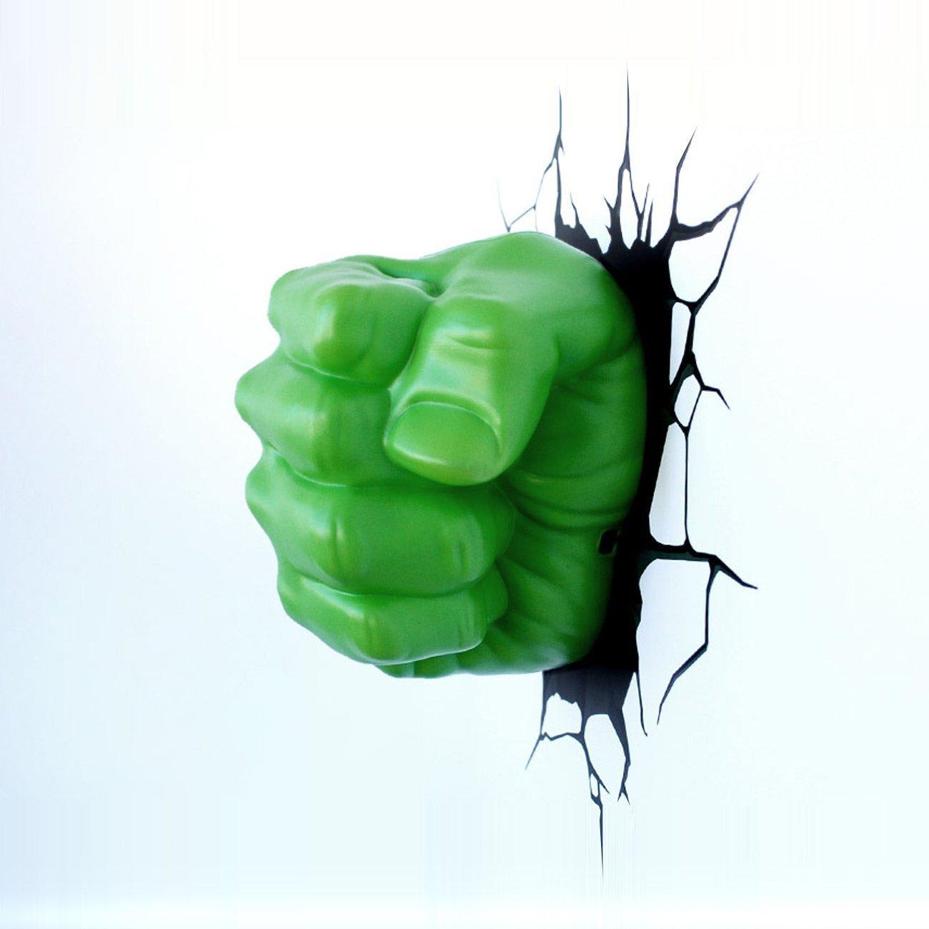 Hulk Fist 3D Deco Light