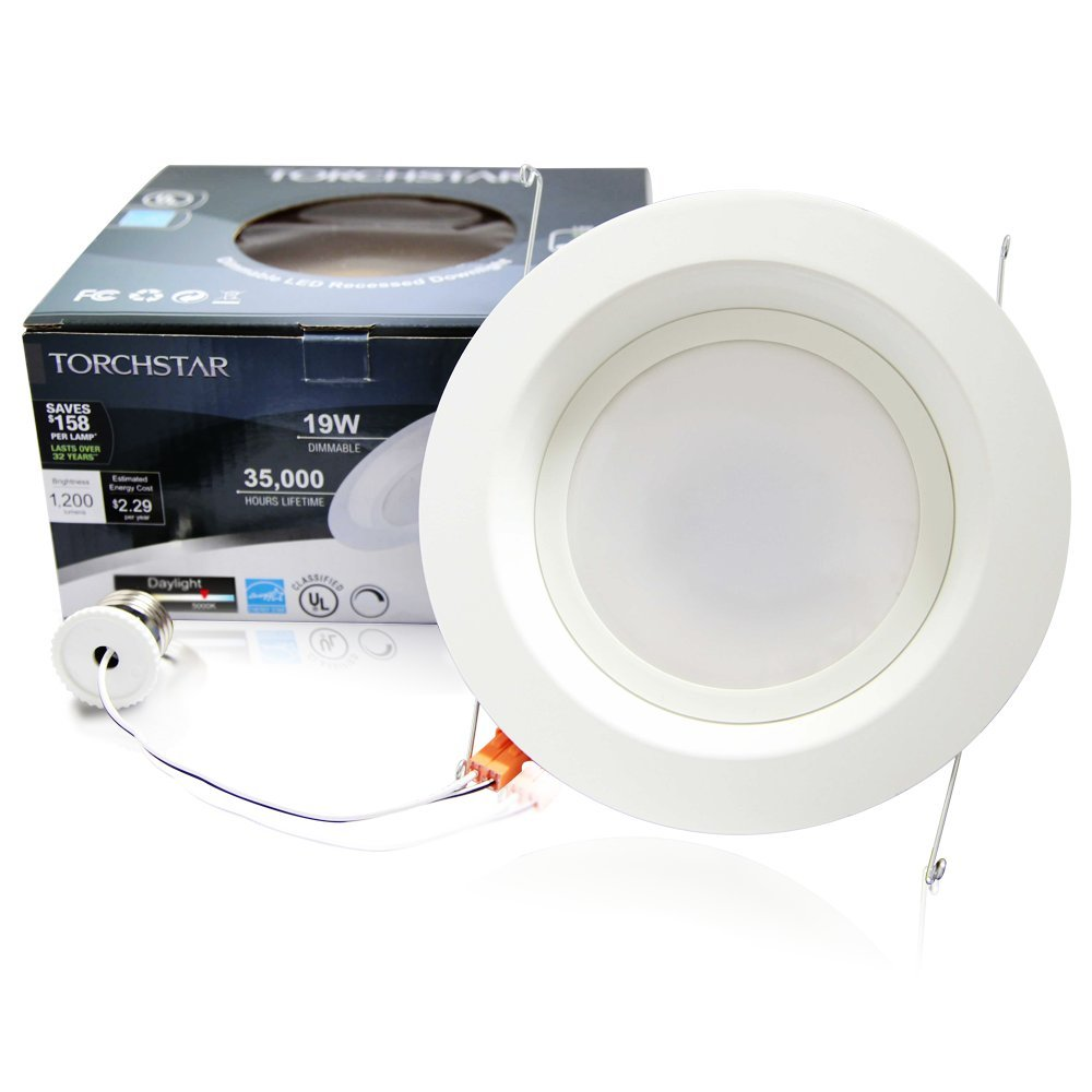 inch dimmable retrofit led recessed lighting 5000k led ceiling light
