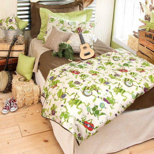 Frog Baby Bedding Set back-286417