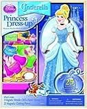 Bendon Disney Cinderella Wooden Magnetic Playset, 25-Piece
