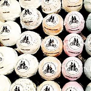 50 Large Bath Bombs Set of 50, JUMBO Bath Bombs 6-7 oz. Bath Bombs Made in America, Hand Crafted Bath Bombs, Batch Includes CURRENT BEST SELLER ASSORTMENT Shipped with SHRINK WRAP & LABELING