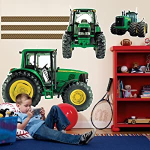 Party Destination John Deere Giant Wall Decals(Pack Of 1)