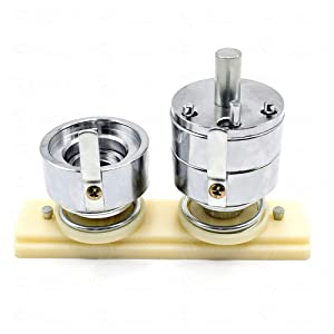 Badge Punching Die Interchangeable DIY Mould Round Button Mold for Button Maker Machine (37mm 1½ inch) (Tamaño: 37mm 1½ inch)