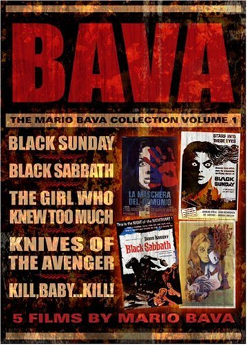 The Mario Bava Collection: Volume One (Black Sunday / Black Sabbath / The Girl Who Knew Too Much / Kill Baby Kill / Knives of the Avenger) (Italian Baby Dvd compare prices)