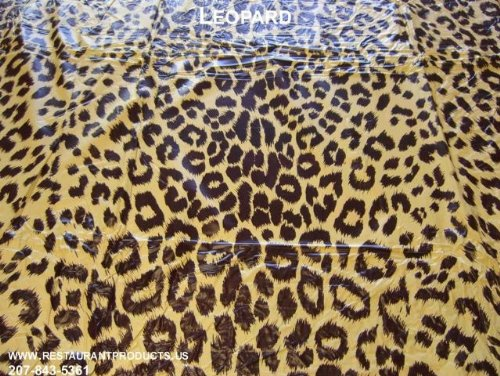 Leopard Print Tablecloth Leopard Print Tablecloth