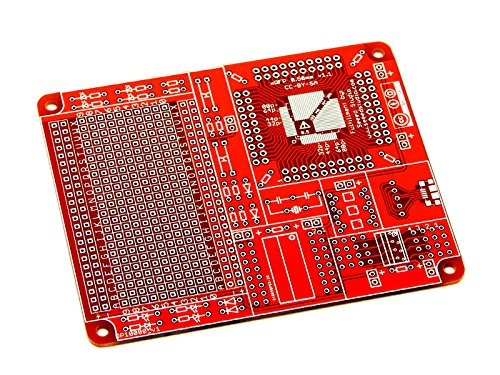 SeeedStudio Qfp Surface Mount Protoboard 0.80Mm + 0.50Mm DIY Maker Open Source BOOOLE