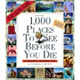 1,000 Places to See Before You Die Calendars
