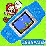 Best seller CoolBaby RS-83 2.5'' LCD 268 8bit NES Classsic Games Contra Portable Handheld Video Game Player Console Kids Toys Gifts