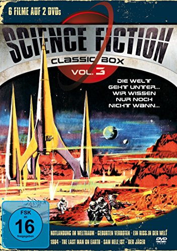 Science Fiction Classic Box, Vol. 3 [2 DVDs]