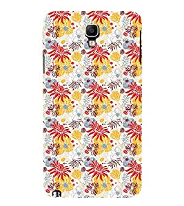 GADGET LOOKS PRINTED BACK COVER FOR SAMSUNG GALAXY NOTE 3 NEO MULTICOLOR
