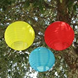 Smart Solar Chinese Solar Lanterns- 3 Pack