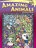 SPARK  Amazing Animals Coloring Book (Dover Spark: Dover Coloring Books for Children)