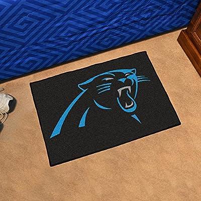 "Team Fan Gear Fanmats Carolina Panthers Starter Rug 20""x30"" NFL-5699"
