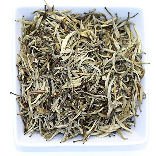 Organic Jasmine Silver Needle White Tea By Tealux - 4oz (Organic White Silver Needle compare prices)