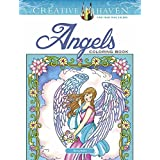 Creative Haven Angels Coloring Book (Adult Coloring)