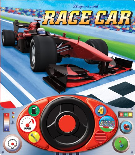 Race Car (Steering Wheel Play-a-Sound Book)