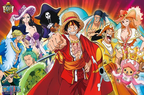 1000ピース ジグソーパズル ONE PIECE 15th ANNIVERSARY(50x75cm)