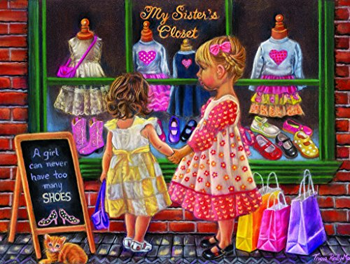 My Sister's Closet - 300 Piece Jigsaw Puzzle By SunsOut Inc. - 1