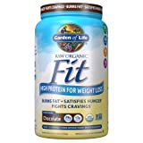 Garden of Life Organic Meal Replacement - Raw Organic Fit Vegan Nutritional Shake for Weight Loss, Chocolate, 32.09oz (2lbs / 922g) Powder (Tamaño: Large)