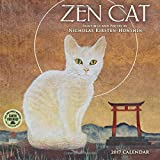 Zen Cat 2017 Mini Wall Calendar: Paintings and Poetry by Nicholas Kirsten-Honshin