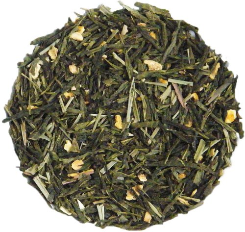 Sencha Lemon Ginger Green Loose Leaf Tea 100g