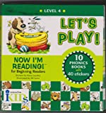 Let's Play!: Level 4 10 Story Books With 40 Stickers (Now I'm Reading) (1584762608) by Nora Gaydos