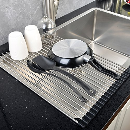 Kitchen Folding Small Mat Over The Sink