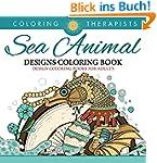 Sea Animal Designs Coloring Book - An...