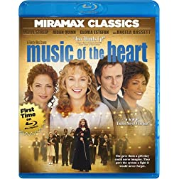 Music of the Heart [Blu-ray]