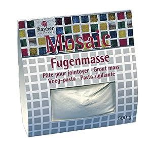 RAYHER - 1460000 - Fugenmasse für Mosaikarbeiten, 500 g