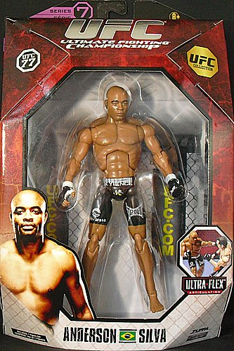 Buy Low Price Jakks Pacific ANDERSON SILVA – UFC DELUXE 7 UFC TOY MMA ACTION FIGURE (B004Y5GY2A)