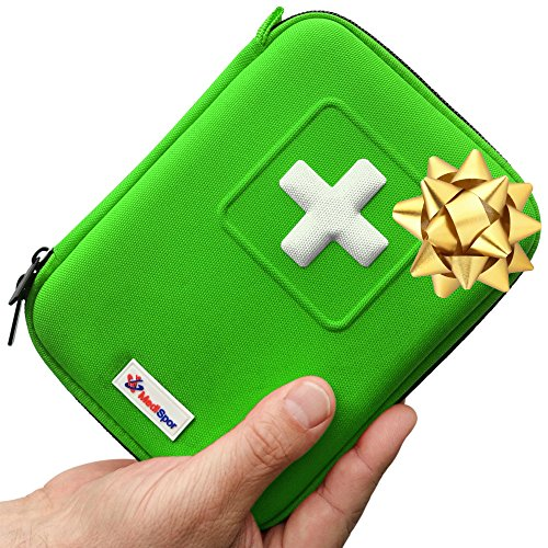 MediSpor 100-Piece First Aid Kit, Green Hard Case (Personal Kayak compare prices)