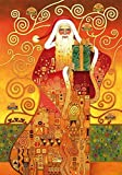 Wentworth Klimt Santa 250 Piece Gustav Klimt Wooden Jigsaw Puzzle by Wentworth