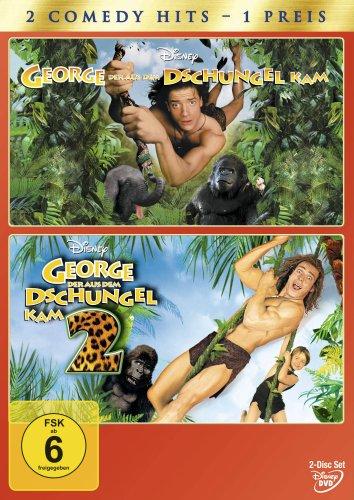 George, der aus dem Dschungel kam / George, der aus dem Dschungel kam 2 [2 DVDs]