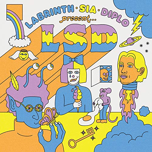 CD : LSD - Labrinth Sia & Diplo Presents Lsd (United Kingdom - Import)