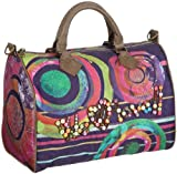 Desigual Women Bols_Bowling Fun Living Winter Top-Handle Bags