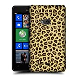 Head Case Jaguar Furry Collection Protective Back Case Cover For Nokia Lumia 625