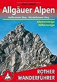 Allgäuer Alpen: Höhenwege und Klettersteige. Mit Heilbronner Höhenweg und Mindelheimer Weg