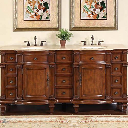 Silkroad-Exclusive-Travertine-Stone-Top-Double-Sink-Bathroom-Vanity-with-Furniture-Bath-Cabinet-72-Inch
