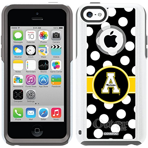 Appalachian State Polka Dots Design On A Glacier Otterbox® Commuter Series® Case For Iphone 5C