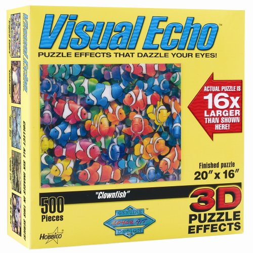 Cheap Hobbico Visual Echo 3D Effect Clownfish 500pc Puzzle S1 (B000FVC58E)