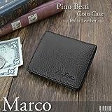 Pino Betti ピノ ベッティ コインケース ブラック 本革 M-722S