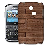 Reclaimed Floorboards Wood Pattern Phone Hard Shell Case for Samsung Galaxy S3 S4 S5 Mini Ace Nexus Note & more - Samsung Ch@t 335