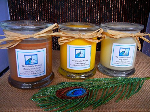 bakers-delight-scented-soy-candle-gift-set-set-of-three-brown-yellow-white