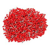 18AWG Copper Insulated Cord End Terminals Red E1510 Pack Of 1000