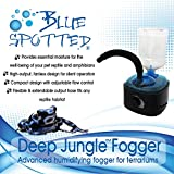 Deep Jungle Fogger, Advanced Humidifying Fogger For Reptiles & Amphibians In Terrariums & Aquariums! Provides Essential Moisture & humidity For The Well-being Of Your Pet Reptile and Amphibians!