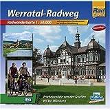 Quadrat-Spiralo BVA Werratal-Radweg Erlebnisradeln von den Quellen bis zur Mündung Radwanderkarte 1:50.000